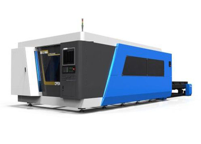 IPG Fiber Laser Cutting Machine Fit Cutting 16mm Carbon Steel / 8mm Stainless Steel