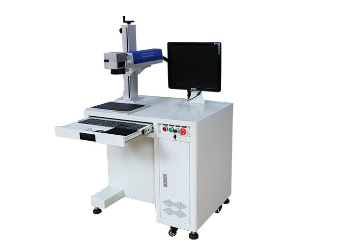Compact Industrial Laser Marking Machine 20W Laser Power 2 Years Warranty