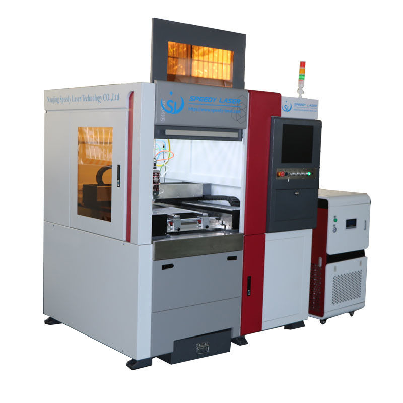 Energy Save Small Fiber Laser Cutter 1000W Metal Fiber Laser Cutting 2mm Stainless Steel