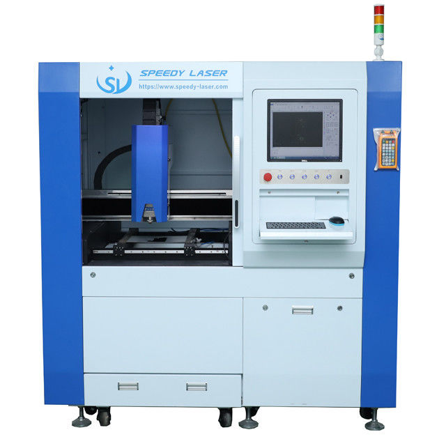 SL-6060F 1500W 600*600mm high precision fiber metal laser cutting machine Cypcut cutting system