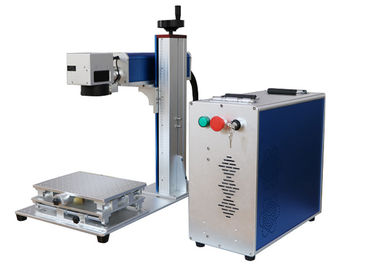 China High Effencicy Speedy Fiber Laser Marking Machine For Metal Engraving Marking distributor