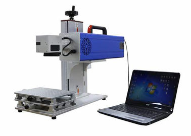China Small Color Laser Marking Machine / Laser CO2 Machine High Speed Galvo Scanner distributor