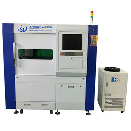 Fiber Line Transmission Small Fiber Laser Cutter Low Electric Power Consumption
